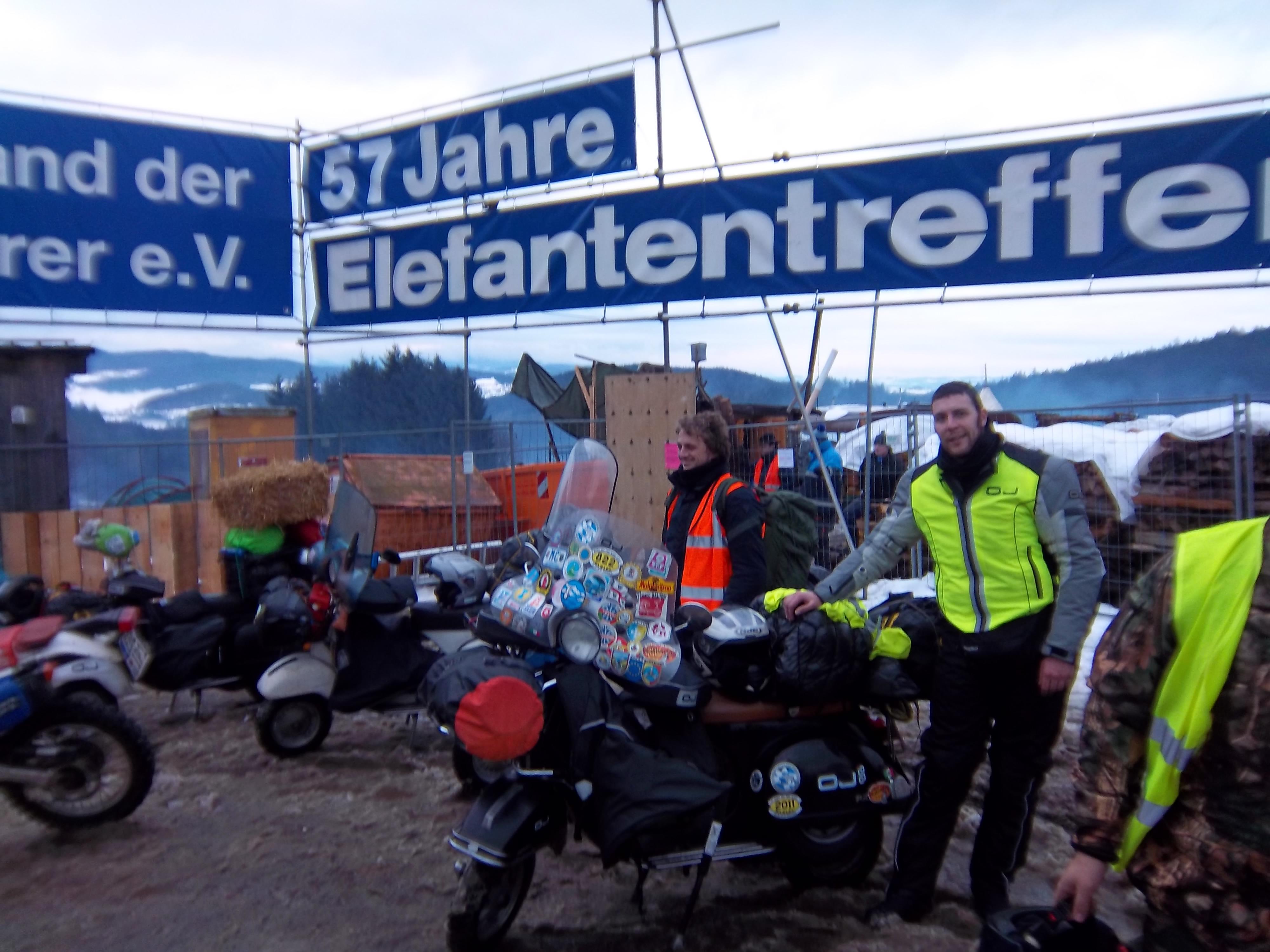 Resoconto di un viaggio verso il 57° ELEFANTENTREFFEN