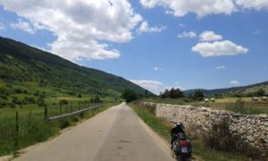 Verso Monte Sant'Angelo