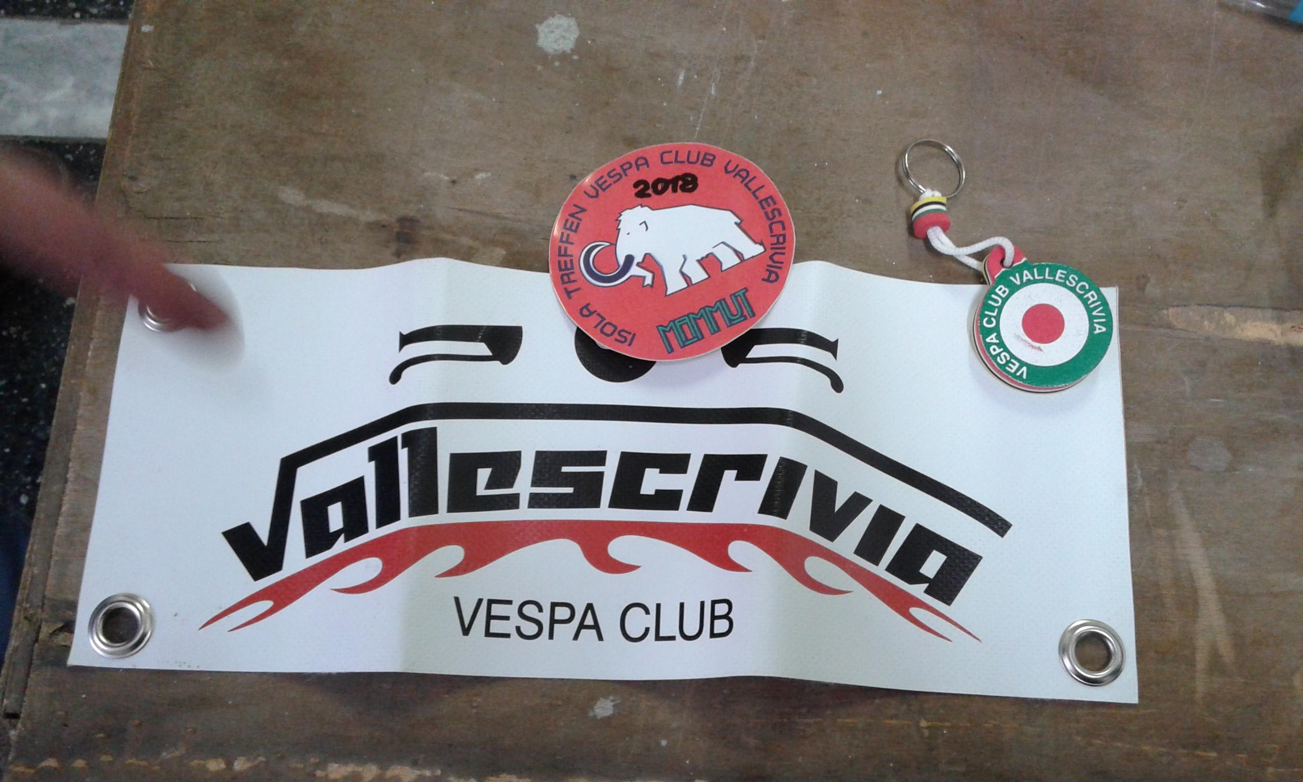 """Il """"Mammut"""" del Vespa Club Vallescrivia"""