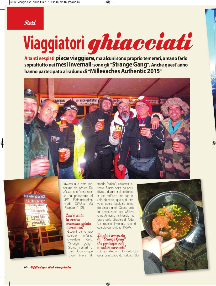 "Ujaguar e la STRANGE GANG su ""Officina del Vespista"""